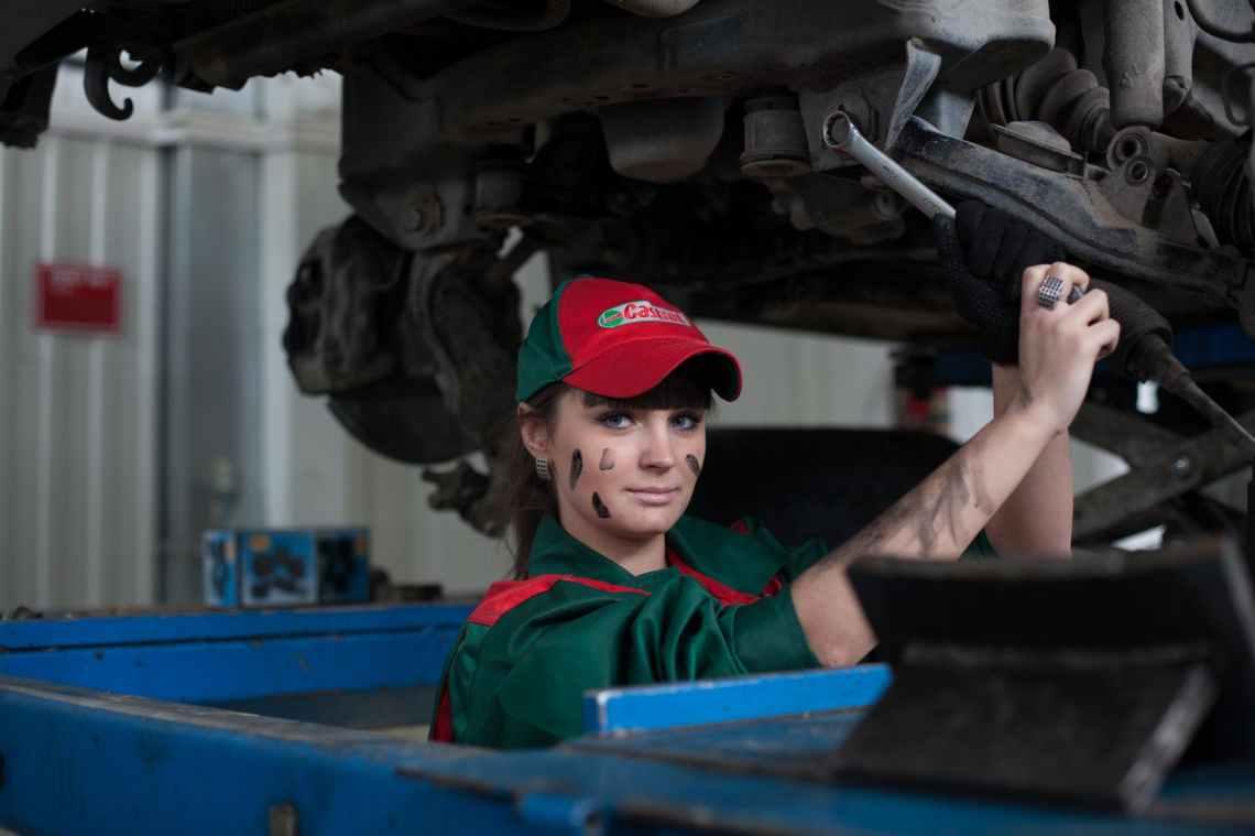 action automotive car employee